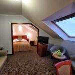 Classic Pokoj s manželskou postelí v podkroví (s možností přistýlky)