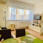 2-Zimmer-Apartment für 3 Personen mit Klimaanlage und Aussicht auf den Park