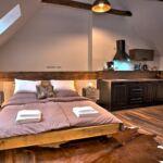 Apartament cu bucatarie proprie pentru 2 pers. (se poate solicita pat suplimentar)