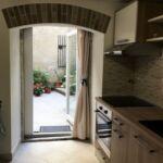 Studio Apartman s terasou s manželskou postelí s 1 ložnicí (s možností přistýlky)