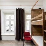 Dormitory s možností rezervovat na lůžka Pokoj se sprchou