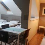 Apartament la etaj cu aer conditionat cu 1 camera pentru 4 pers.