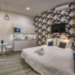 Štúdio Apartmán s manželskou posteľou s 1 spálňou na poschodí