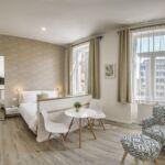 Exclusive Apartmán s manželskou posteľou s 1 spálňou na poschodí