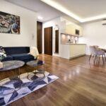 Apartament 4-osobowy na piętrze Standard Plus z 2 pomieszczeniami sypialnianymi