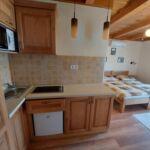 Apartament 3-osobowy Deluxe z widokiem na ogród z 1 pomieszczeniem sypialnianym