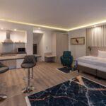 Studio  Suita s manželskou postelí s 1 ložnicí
