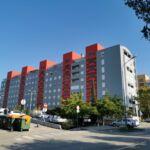 Apartament cu aer conditionat cu vedere spre mare cu 3 camere pentru 6 pers. A-18486-a