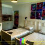Apartament la parter cu vedere spre gradina cu 1 camera pentru 2 pers.