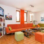 Tengerre néző légkondicionált 8 fős apartman 4 hálótérrel