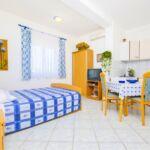 Twin Apartman s terasou s manželskou postelí s 1 ložnicí