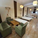 Apartman se zahradou pro 5 os. s 1 ložnicí v přízemí (s možností přistýlky)