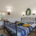 Exclusive Rolnický dům (jako celek) s manželskou postelí s výhledem na moře