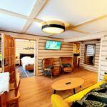 Apartament confort cu vedere spre munte cu 3 camere pentru 6 pers.