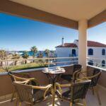 3-Zimmer-Apartment für 6 Personen Obergeschoss mit Aussicht auf das Meer (Zusatzbett möglich)