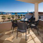 Family 3-Zimmer-Apartment für 6 Personen mit Aussicht auf das Meer (Zusatzbett möglich)