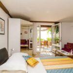 Apartament cu terasa cu vedere spre mare cu 1 camera pentru 2 pers.