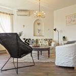 Apartament 6-osobowy Przyjazny podróżom rodzinnym z dostępem do ogrodu z 3 pomieszczeniami sypialnianymi