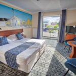 Camera dubla superior cu balcon (se poate solicita pat suplimentar)