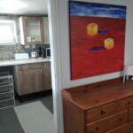 Panorámás földszinti 3 fős apartman 2 hálótérrel