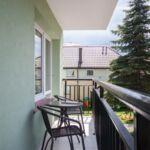 Camera dubla confort cu balcon