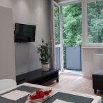 Balkonos Komfort 4 fős apartman 2 hálótérrel