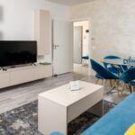 Erkélyes Grand 4 fős apartman 6 hálótérrel (pótágyazható)