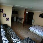 Apartament family la parter cu 1 camera pentru 4 pers.