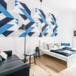 Apartament art design cu 1 camera pentru 2 pers.
