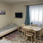 1-Zimmer-Apartment für 3 Personen mit Terasse und Aussicht auf den Garten