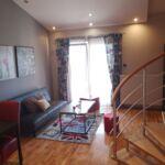 Apartament cu balcon cu grup sanitar cu 2 camere pentru 4 pers.