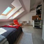 Apartament studio la mansarda cu 1 camera pentru 2 pers.