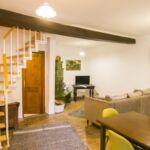 Udvarra néző Családi 6 fős apartman 2 hálótérrel (pótágyazható)