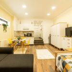 Studio Ground Floor 1-Room Apartment for 4 Persons
