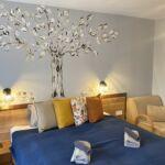 Apartament la etaj cu aer conditionat cu 1 camera pentru 3 pers.