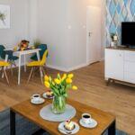 Apartament deluxe exclusive cu 3 camere pentru 6 pers.