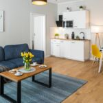 Apartament exclusive cu terasa cu 3 camere pentru 6 pers.