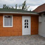 1-Zimmer-Apartment für 4 Personen mit Klimaanlage und Aussicht auf den Garten