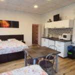 Apartment für 2 Personen mit Dusche und Eigener Küche (Zusatzbett möglich)