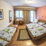 Camera cvadrupla standard cu cadita de dus (se poate solicita pat suplimentar)