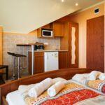 Apartament la etaj cu panorama cu 1 camera pentru 2 pers.
