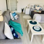 Apartman s balkónem s klimatizací s manželskou postelí s 1 ložnicí (s možností přistýlky)