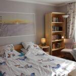 Apartament la etaj cu aer conditionat pentru 6 pers. (se inchirieaza doar integral) (se poate solicita pat suplimentar)