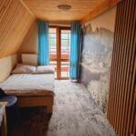 Pogled na planine Mali balkon soba sa francuskim krevetom (za 2 osoba(e))