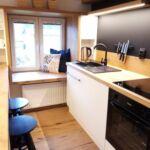 Apartment für 6 Personen mit Dusche und Eigener Küche