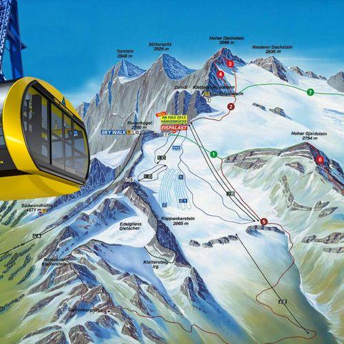 Dachstein gleccser