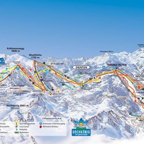 Regiunea de schi Hochkönig