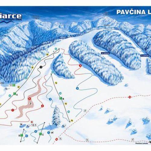 Ski Žiarce - Pavčina Lehota