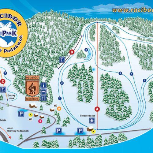 Lyžiarske stredisko Skipark Racibor
