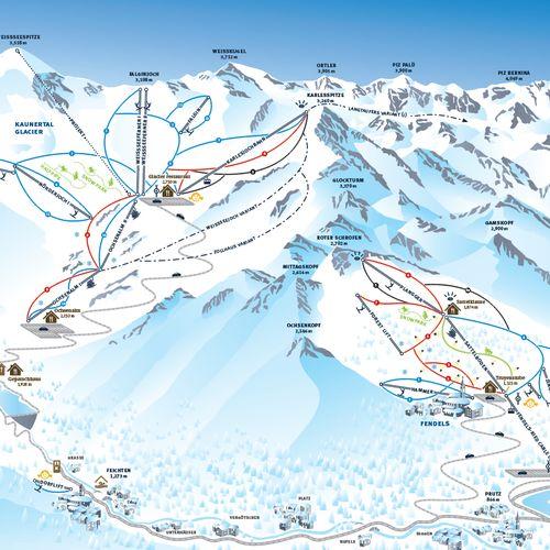 Ľadovec Kaunertal